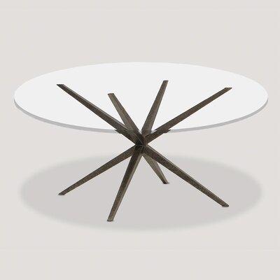 PierceMartin Lovell Glass Top Dining Table