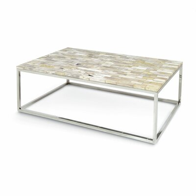 Mosaic Petrified Large Wood Coffee Table