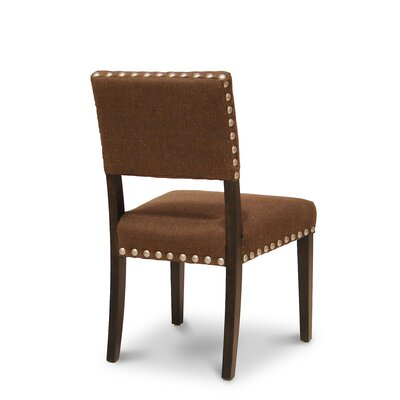 Buy Low Price Palecek Surrey Side Chair Upholstery Brown Dining Chair Mart