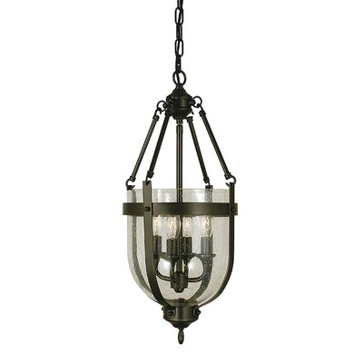 Hannover 4-Light Inverted Pendant Finish: Antique Brass