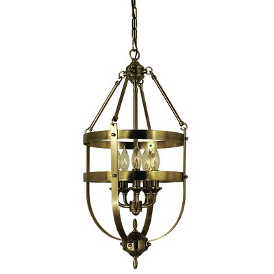 Hannover 5-Light Foyer Pendant Finish: Brushed Nickel