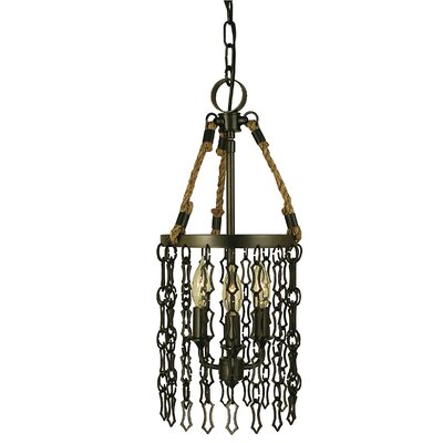 Warwick 3-Light Candle-Style Chandelier Finish: Antique Brass