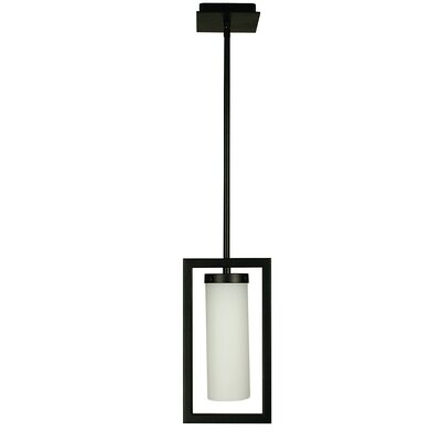 Theorem 1-Light Mini Pendant Color: Matte Black