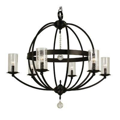 Compass 6-Light Candle-Style Chandelier
