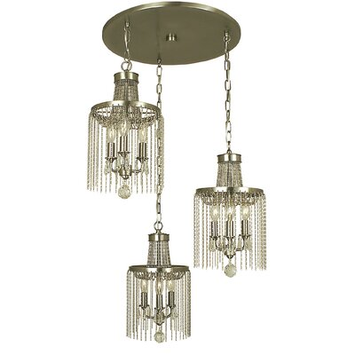Guinevere 9-Light Pendant Finish: Brushed Nickel