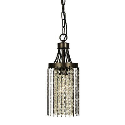 Guinevere 1-Light Pendant Finish: Brushed Nickel