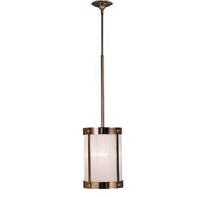 Astor 1-Light Mini Pendant Finish: Satin Brass
