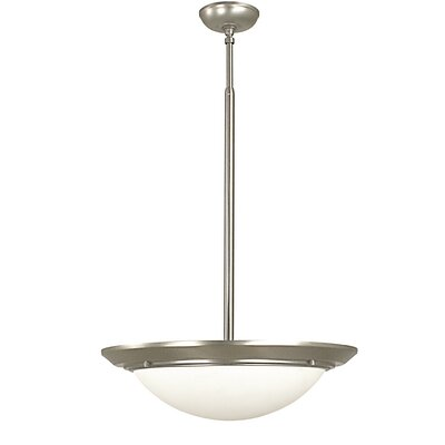 Kensington 6-Light Inverted Pendant Finish: Brushed Nickel