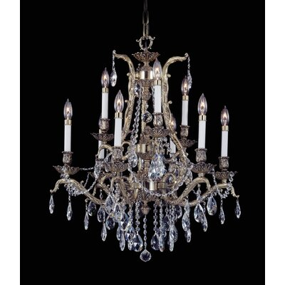 Czarina 9-Light Crystal Chandelier