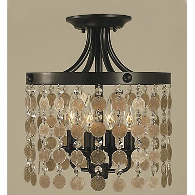 Naomi 4-Light Semi Flush Mount