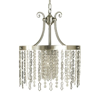 Penelope 1-Light Mini Pendant Finish: Brushed Nickel