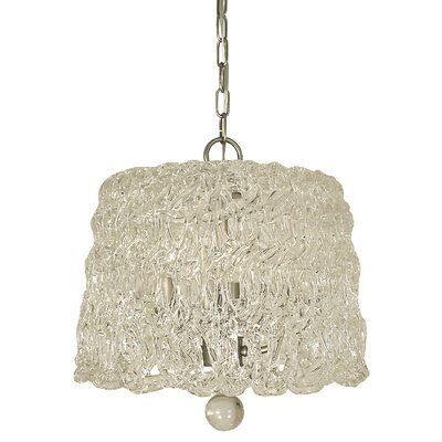Brocatto 5-Light Pendant Finish: Polished Nickel
