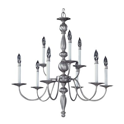 Jamestown 9-Light Candle-Style Chandelier