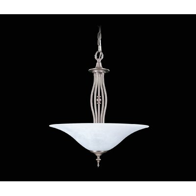 Black Forest 3-Light Inverted Pendant