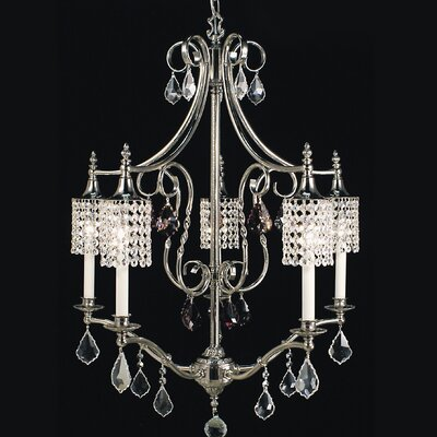 Nocturne 5-Light Crystal Chandelier