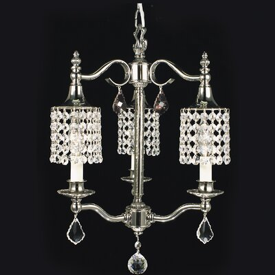 Nocturne 3-Light Crystal Chandelier