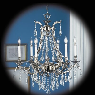 Czarina 6-Light Crystal Chandelier