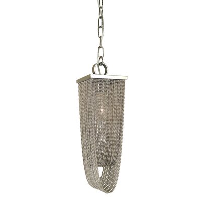 Genesis 1-Light Mini Pendant Finish: Polished Nickel