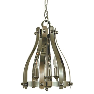 Julienne 4-Light Foyer Pendant Finish: Brushed Nickel/Polished Nickel