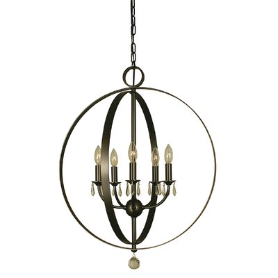 Constellation 5-Light Globe Pendant