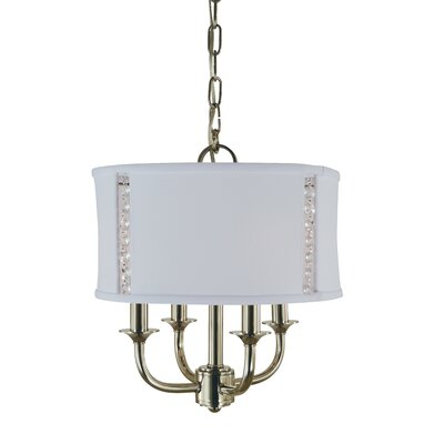 Michele 4-Light Drum Chandelier