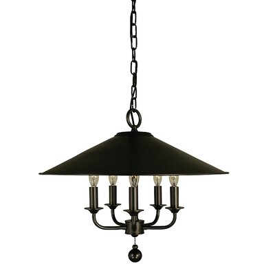 Taylor  4-Light Candle-Style Chandelier Finish: Mahogany Bronze