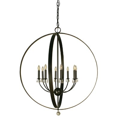Constellation 8-Light Globe Pendant