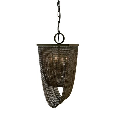 Genesis 4-Light Mini Pendant Finish: Mahogany Bronze