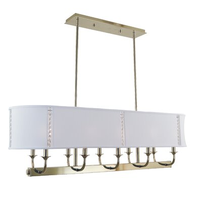 Michele 10-Light Kitchen Island Pendant