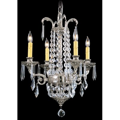 Baronness 4-Light Crystal Chandelier