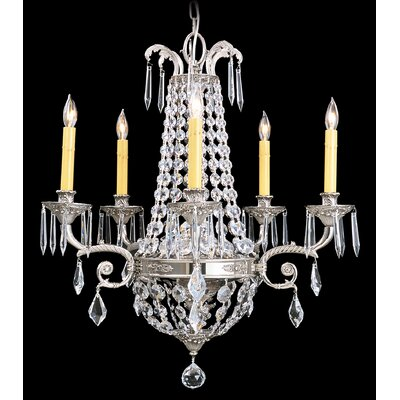 Baronness 5-Light Crystal Chandelier