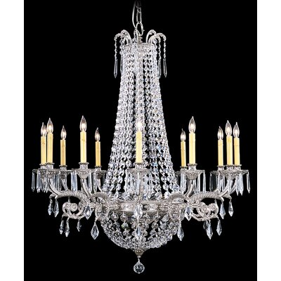 Baronness 12-Light Crystal Chandelier