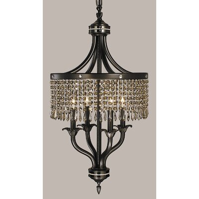 Empress 4-Light Crystal Chandelier