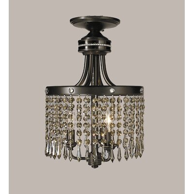 Empress 3-Light Semi Flush Mount