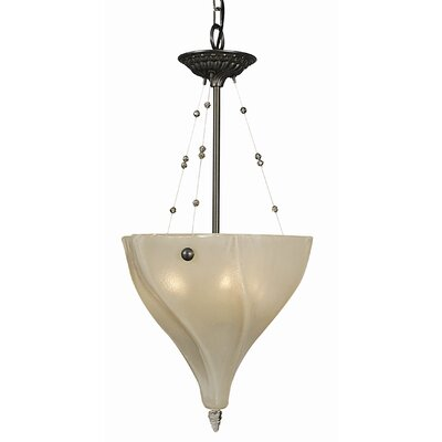 Giselle 3-Light Inverted Pendant