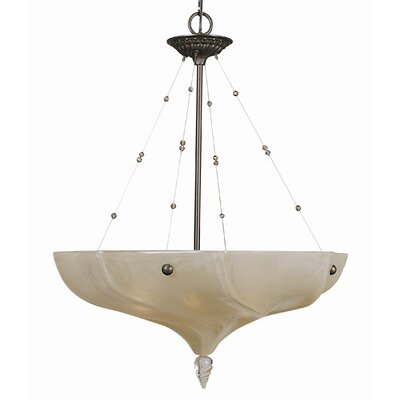 Giselle 4-Light Shaded Chandelier