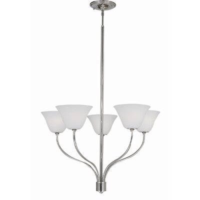 Trianon 5-Light Shaded Chandelier