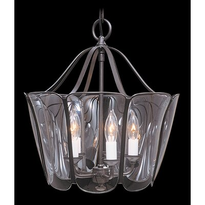 Yorkshire 5-Light Candle-Style Chandelier Size: 18 x 16, Finish: Mahogany Bronze