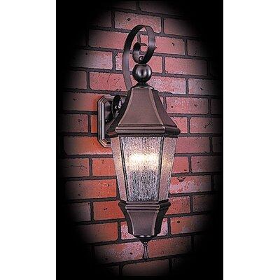 Normandy 3-Light Outdoor Lantern Post Color: Siena Bronze