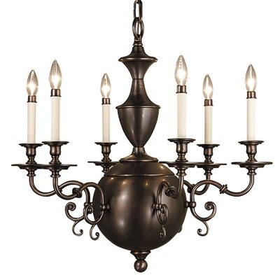Windsor 6-Light Candle-Style Chandelier