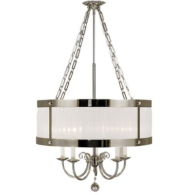 Astor 5-Light Drum Chandelier Size: 29 - 56 x 24