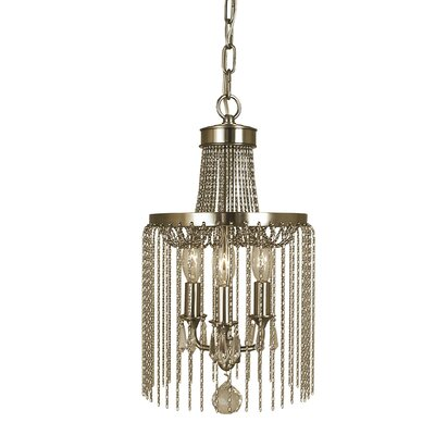 Guinevere 3-Light Pendant Finish: Brushed Nickel