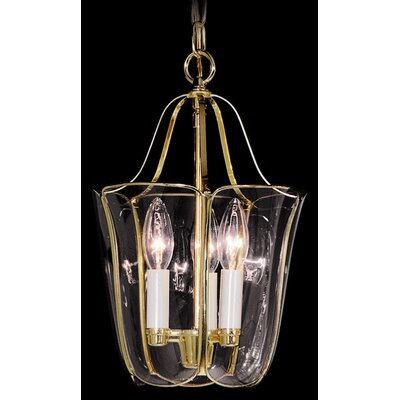 Yorkshire 3-Light Candle-Style Chandelier Finish: Polished Brass