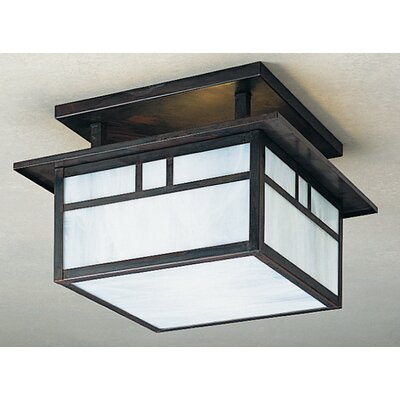 Huntington 2-Light Semi Flush Mount