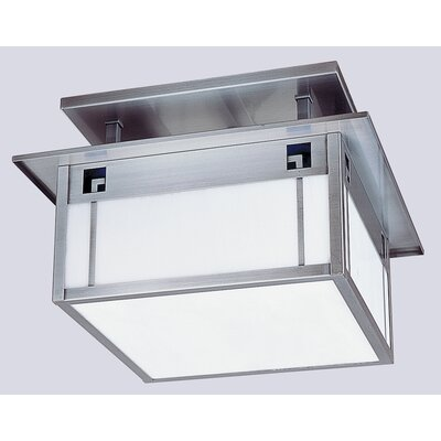 State Street 2-Light Semi Flush Mount
