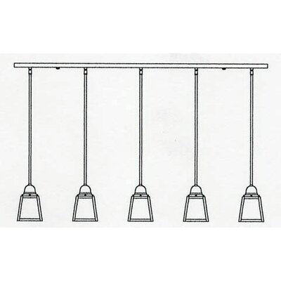 A-Line 5-Light Kitchen Island Light