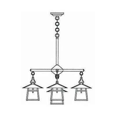 Carmel 5-Light Shaded Chandelier