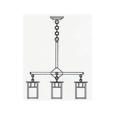 Huntington 3-Light Kitchen Island Pendant