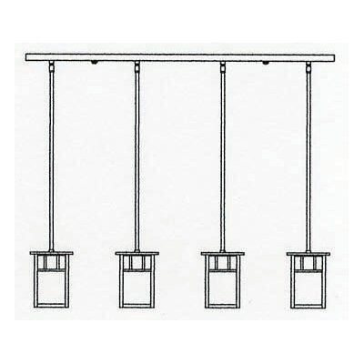 Huntington 4-Light Kitchen Island Pendant