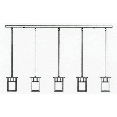 Huntington 5-Light Kitchen Island Pendant